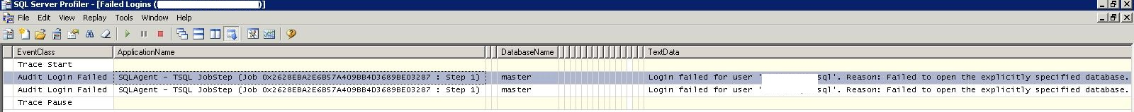 MS SQL: Using Profiler to Trace Failed Logins – KimConnect com