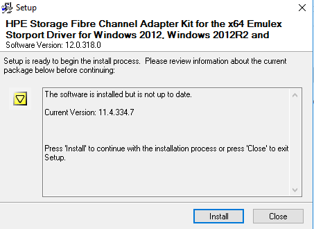 Windows Server: Fibre Channel HBA Administration